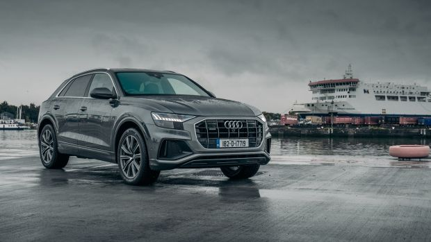 a06ec3e531 Audi Q8 50 TDI: With adaptive air suspension and all-wheel steering, it