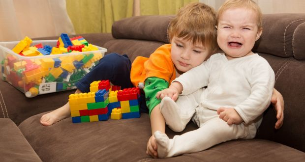 Dealing with a jealous toddler when a new baby comes along