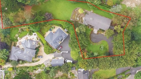 Maple Tree House site (outlined in red) purchased by Bartra for €3.1 million.