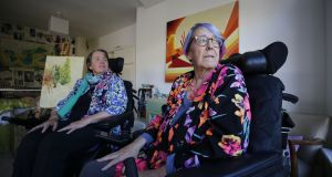 Sisters Margaret and Ann Kennedy at home in Greystones, Co Wicklow. Photograph: Nick Bradshaw for The Irish Times