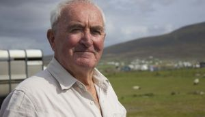 Achill Island sheep farmer Martin Calvey: overall winner of the  Farming for Nature awards. Photograph: Johnny White