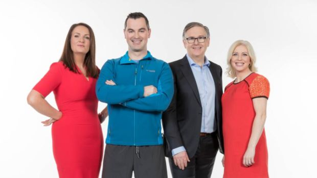 Operation Transformation: Ciara Kelly on RTÉ's weight-loss show with her fellow experts Karl Henry, Dr Eddie Murphy and Aoife Hearne