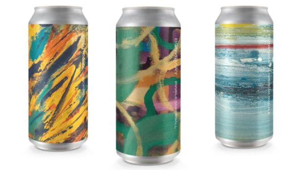 Some of the striking designs from Boundary Brewing