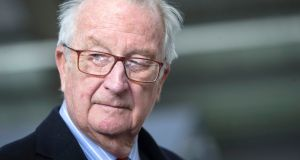 Belgium's former king, Albert II: has been asked to undergo a DNA test to determine paternity. Photograph: Olivier Hoslet/EPA