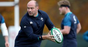 Rory Best is expected to return as Ireland captain. Photograph: Dan Sheridan/Inpho