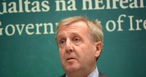 Shrewd: Minister for Agriculture Michael Creed. Photograph: Dara Mac Dónaill