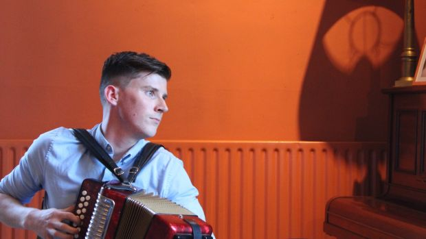 Conor Connolly, TG4 Young Traditional Musician of the Year 2019. Photograph: Brian Crehan