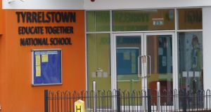 Tyrrelstown Educate Together School is due to partially reopen today after its board of management received positive results from an independent health and safety assessment on the internal alterations to the school. Photograph: Nick Bradshaw/The Irish Times