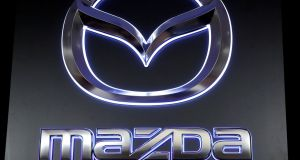 Mazda said it would recall around 410,000 units in overseas markets. Photograph: Kim Kyung-Hoon/Reuters