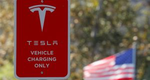 Tesla said Ms Denholm will be serving as Tesla chair on a full-time basis. Photograph: Mike Blake/Reuters