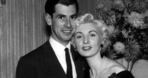 Ruth Ellis with her boyfriend David Blakely at the Little Club in London in 1955