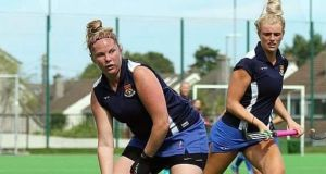 Ruth McDonagh in action for Bray Hockey Club