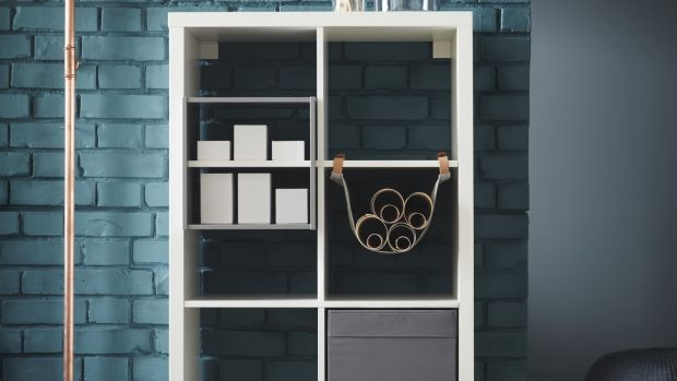 Kallax unit (€49): eight-shelf unit comes in eight finishes