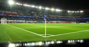 Paris St Germain's Parc des Princes stadium. Photograph:   Matthias Hangst/Getty Images