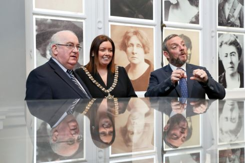 BREXIT SUMMIT: Members of the Seanad gather to hear from Belfast Lord Mayor Deirdre Hargey about the ways that Brexit may alter the lives of people in the city. Photograph: Maxwell's