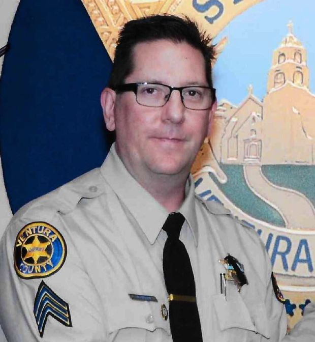A handout photo made available by Ventura County Sheriff Department showing Sgt Ron Helus. Photograph: EPA/Venture County Sheriff Dept/Handout