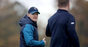 Joe Schmidt: will make up his mind this month on his future post the World Cup in 2019. Photograph: Dan Sheridan/Inpho