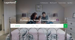 Lagan Homes website