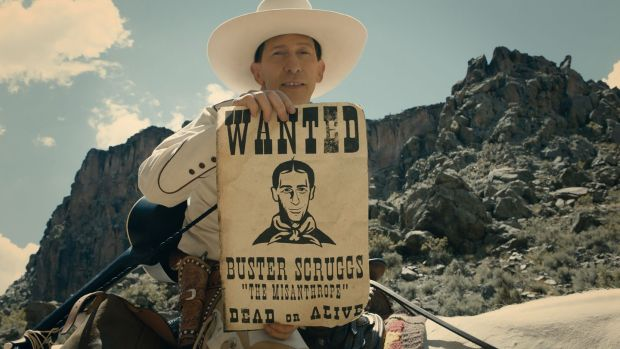 The Ballad of Buster Scruggs, directed by the Coen brothers, one of the Netflix films which is unlikely to get an Irish cinema release. Photograph: Netflix