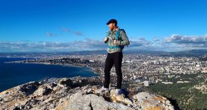 Dubliner Anthony Blackwell looks down on Marseille, where he works as a secondary school teacher