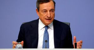 "ECB president Mario Draghi told the Oireachtas the high interest rates were largely down to the fact the State has a ""quasi-monopoly"" banking market that is ""not competitive"""