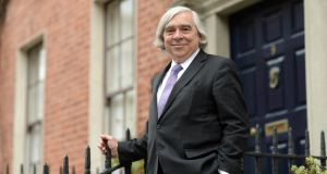 "US secretary of energy Dr Ernest Moniz: ""I think after the Paris accord the world is heading to a low-carbon economy."" Photograph:  Dara Mac Donaill"