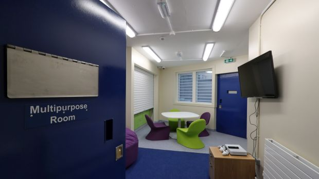 The multipurpose room in the National Violence Reduction Unit in the Midlands Prison, Portlaoise Photograph: Colin Keegan/Collins