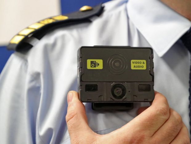 Body cameras will be worn by Irish Prison Services staff in the National Violence Reduction Unit. Photograph: Colin Keegan/Collins