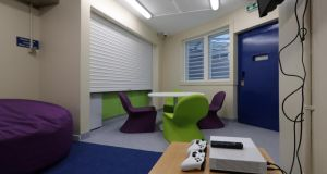 An XBox games console is among the amenities in the multipurpose room pictured this morning in the new National Violence Reduction Unit in the Midlands Prison, Portlaoise Photograph: Colin Keegan/Collins