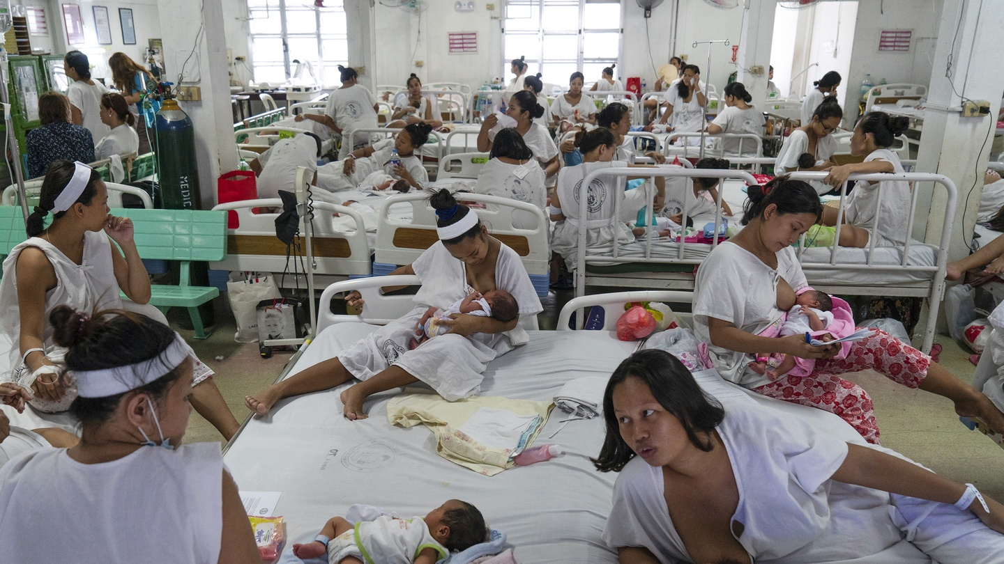 Welcome to the busiest maternity ward on the planet