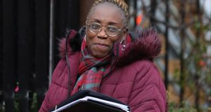 Ashimedua Okonkwo  told the High Court she was admitted to practice as a solicitor in Ireland in 2013, holds a Masters Degree in Law from TCD, and is about to receive a Doctorate in Law from the same university. Photograph: Collins Courts