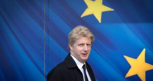MP Jo Johnson, who has quit as  junior transport minister, said he would be campaigning for a second referendum on Brexit.   Photograph: Stefan Rousseau/PA Wire