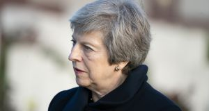 British prime minister Theresa May, whose cabinet is expected to meet early next week to consider a draft Brexit agreement including a compromise proposal on the Border backstop. Photograph: Jasper Juinen/Bloomberg