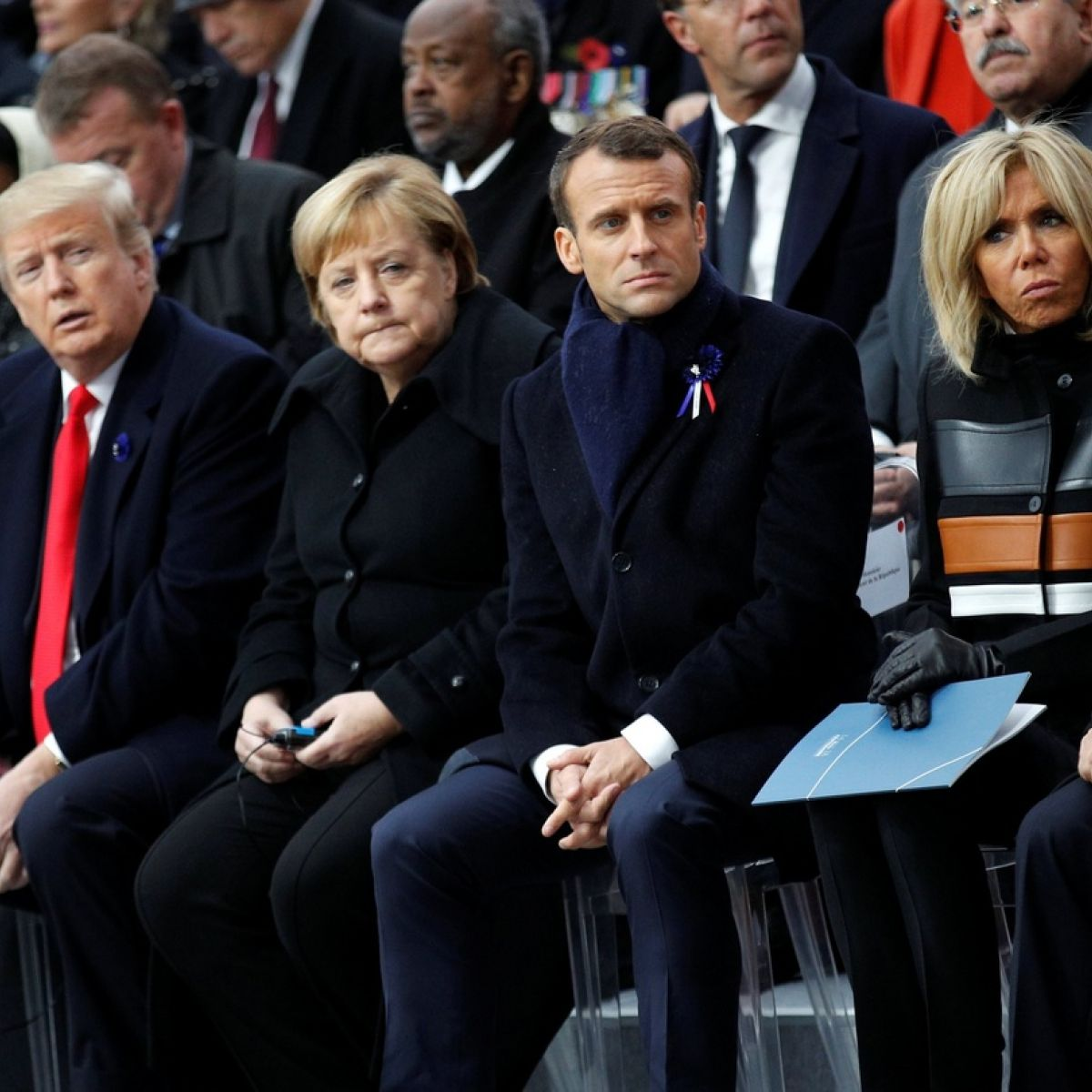 Macron warns about dangers of nationalism at Armistice ceremony