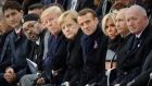 Macron warns nationalism is a 'betrayal' at Armistice ceremony in Paris