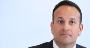 "Taoiseach Leo Varadkar: ""There isn't, nor should there be, any one political party anywhere in the UK or Europe that should have a veto on this."" Photograph: Peter Byrne/PA"