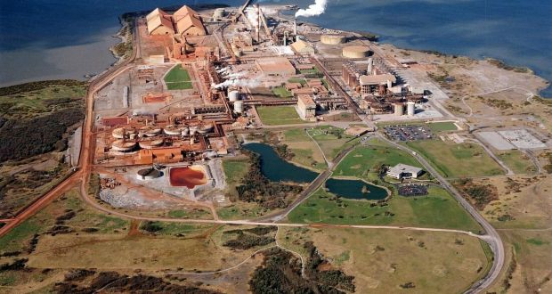 Deal to lift sanctions against Aughinish Alumina refinery at Shannon