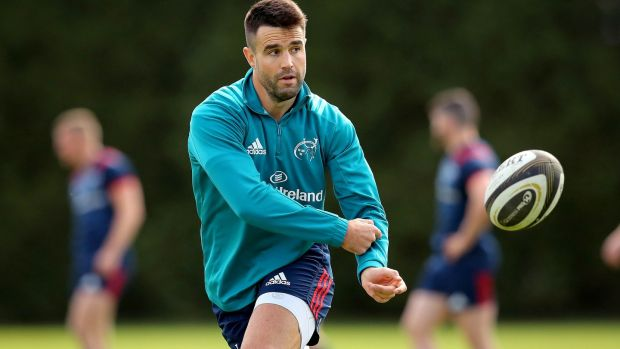 The Irish coach will let Conor Murray make his own mind about playing New Zealand. Photograph: Ryan Byrne / Inpho