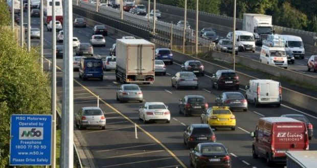 Delays of up to an hour reported on M1/M50 after crash