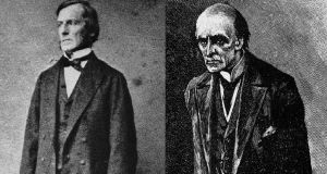 An illustration of Prof James Moriarty in Conan Doyle's work bears a striking resemblance to a photograph of Prof George Boole (left) and may well have been based on it.