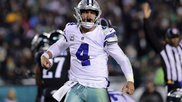 Dallas Cowboys quarterback Dak Prescott. Photograph  Elsa Getty ca249d266