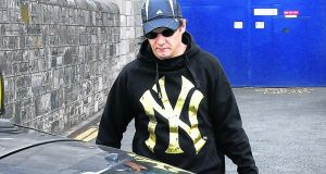 Larry Murphy leaving Arbour Hill Prison in 2010 after serving his sentence for rape. File photograph: Alan Betson