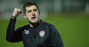 Derry City have appointed Declan Devine as the club's new manager. Photo: Russell Pritchard/Inpho