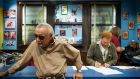 Stan Lee: as chief writer and editor at Marvel Comics, he  helped create the 20th century's superheroes. Photograph: Chad Batka/New York Times