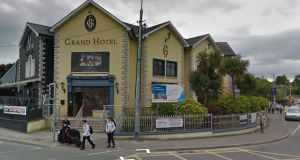 The Grand Hotel, located on Abbey Street, Wicklow town, will start housing asylum-seekers in the next number of weeks. File photograph: Google Street View