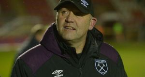 Mark Phillips has been reinstated to hiscoaching role by West Ham United. Photograph: Arfa Griffiths/Getty Images