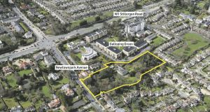 The property fronts on to the same road as Newpark Comprehensive School, but when redeveloped will not apparently be linked to the existing school.