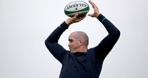 Devin Toner made a big impact coming off the replacements bench against the Pumas. Photograph: Dan Sheridan/Inpho