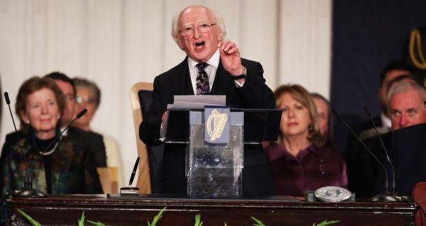 Full Text President Higgins Inaugural Speech