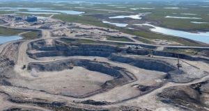 The world's largest new diamond mine, Gahcho Kue, in the Canadian tundra